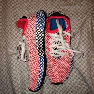 Never worn adidas sneakers